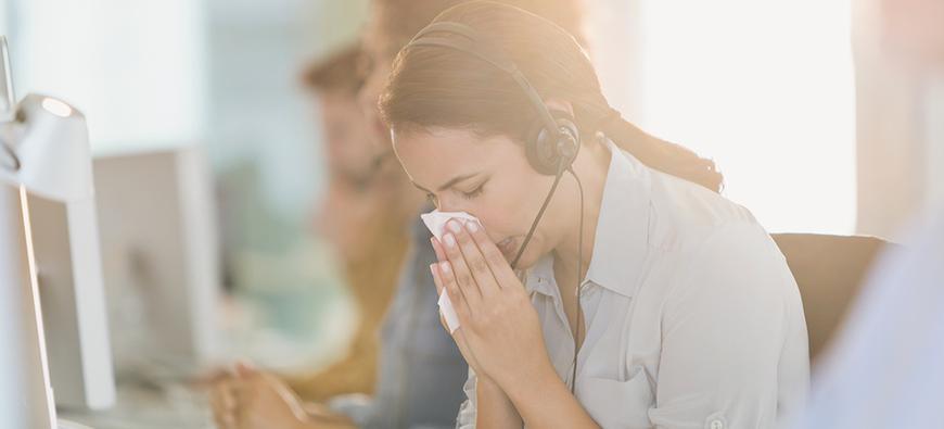 Reguleren luchtvochtigheid in gebouwen vermindert ziekteverzuim